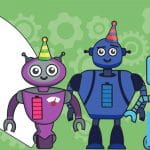 Buddy Bots Bash – Make Your Own Party Hats