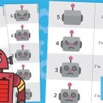 Buddy Bots Robot Emotions Tracker
