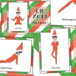 Elf on the Shelf Yoga Pose Cards