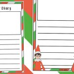 Elf on the Shelf Daily Elf Diary