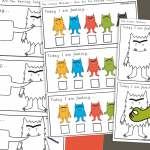 The Colour Monster How Are You Feeling Today? Colouring Activity