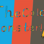 The Colour Monster Display Lettering