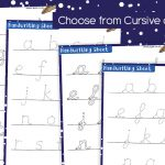 Winter Letter Formation Handwriting Practice