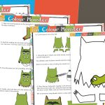 Make Your Own Colour Monster Template and Instructions