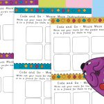 STEM Coding Mouse Direction Challenge Cards