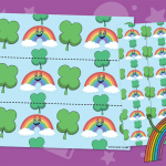 Rainbow Wishes Display Border