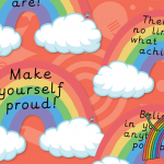 Rainbow Wishes Display Quotes