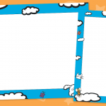 Work To Be Proud Of Cloud Display Frames