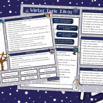 Winter Curriculum Ideas Map