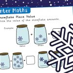 Winter Place Value Maths Activity