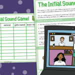 Interactive Teaching Game for Remote Learning – The Initial Sound Game