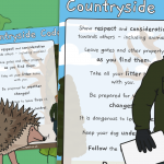 The Countryside Code for Children – Display Poster