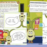Wellbeing Wednesday Monsters Spring Week 3 Task Card