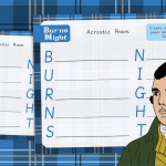 Burns Night Acrostic Poem Activity