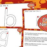 Chinese New Year Handwriting Letter Formation PowerPoint