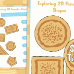 Shrove Tuesday Exploring Pancake 2D Shapes Activity