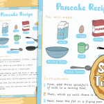 Shrove Tuesday Pancake Recipe