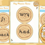 Shrove Tuesday Flip Pancake Phonics Game