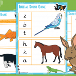 Pets Initial Sound Game