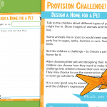 Pets Provision Challenge Design and Build a Home for a Pet