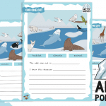 Animals from Arctic Habitats – Odd One Out