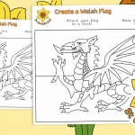 St David's Day – Create a Welsh Flag