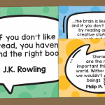 Reading and Sharing Stories Author Quote Posters