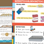Quidditch Golden Snitch Cake Pop Recipe and Question Prompts