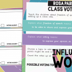 Rosa Parks Freedom of Speech – Class Voting Activity