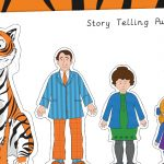 The Tiger Who Came to Tea Story Telling Puppets