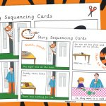 The Tiger Who Came to Tea Story Sequencing Cards