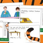 The Tiger Who Came to Tea Story Sequencing Posters