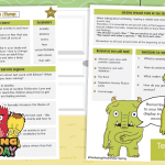 Wellbeing Wednesday Monsters Spring Week 9 Anxiety with Flump Teaching Guide