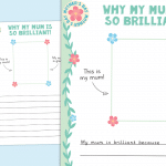 Mother's Day Why My Mum is so Brilliant Writing Activity