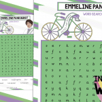 Emmeline Pankhurst Word search