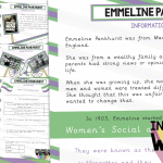 Emmeline Pankhurst Information Text and Comprehension