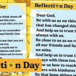 Day of Reflection – Prayer Poster