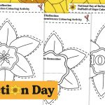 Day of Reflection – Daffodil in the Window Colouring