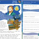 Van Gogh Information Text and Comprehension