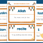 Ramadan Vocabulary Cards KS2