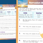 Maths Ramadan Investigation
