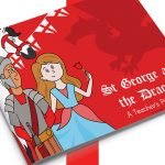 St George and the Dragon Story Book
