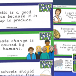 Earth Day Debating Cards