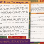 Shakespeare Info Text and Comprehension