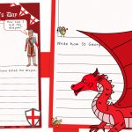 St George's Day How to Slay a Dragon Writing Activity