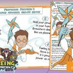 Week 1 Wellbeing Superhero Professor Pinwheel – Task Card