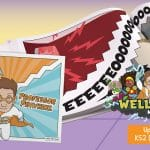 Week 1 Wellbeing Superhero Comic Book – Professor Pinwheel (KS2)