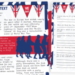 VE day Information Text and Comprehension