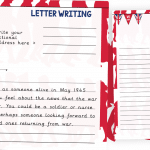 VE Day Letter Writing