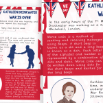 VE Day Kathleen Drinkwater Morse Code